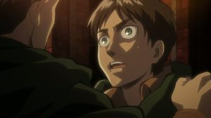 Eren is kinda scared of the new Jean